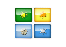 Seasons, 3D Royalty Free Stock Images
