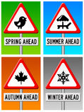 Seasons ahead Stock Images