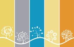 Seasons background Royalty Free Stock Photography