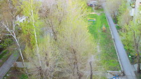 Seasons: fall, winter, spring, summer. (Time lapse). Natural seasons. Made from photos stock video