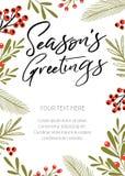Seasons Greeting Royalty Free Stock Image