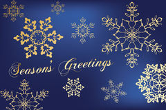 seasons greetings Stock Photos