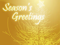 Seasons Greetings Royalty Free Stock Photo