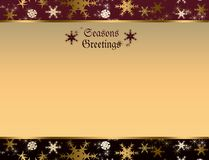 Seasons greetings background Royalty Free Stock Images