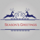 Seasons greetings card Royalty Free Stock Photo