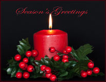 Seasons Greetings Card Royalty Free Stock Photos