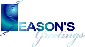 Seasons Greetings Design Royalty Free Stock Photos