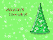 Seasons Greetings illustration Stock Photos