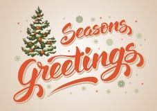Seasons greetings Royalty Free Stock Photo