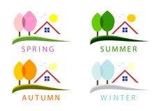 Seasons. Royalty Free Stock Image