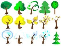 Seasons Tree Royalty Free Stock Photo