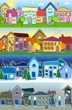 Seasons, vector illustration Stock Image