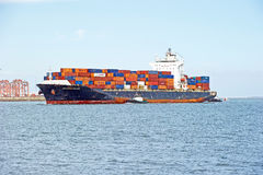 Seaspan Dalian Cargo Container Ship Stock Images