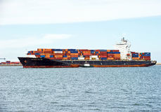Seaspan Dalian Cargo Container Ship Royalty Free Stock Photo