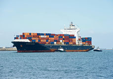 Seaspan Dalian Cargo Container Ship Royalty Free Stock Images
