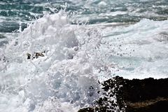Seaspray Royalty Free Stock Images