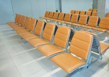 Seast do aeroporto ou da estação de autocarro Fotos de Stock