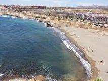 Seasun azul, mar azul e praia Fotografia de Stock