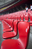 Seat. This is a picture about Seat. This is the Beijing Olympic Games Bird's Nest stadium seats Stock Photo
