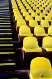 Seat. Yellow seat Stock Image
