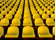 Seat. Yellow seat Stock Photography