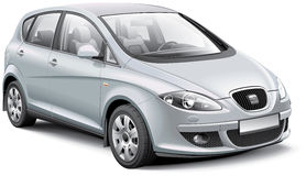 SEAT Altea Stock Image