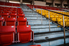 Seat in arena Stock Image