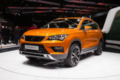 Seat Ateca in Geneva Royalty Free Stock Images