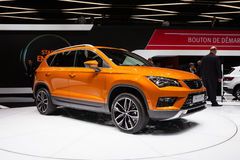Seat Ateca in Geneva Royalty Free Stock Photography