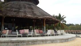Seat auf dem Strand Stockfotos