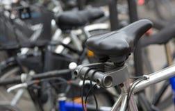 Seat av cykeln Royaltyfria Foton