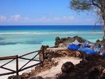 Seat avec la vue d'océan Image libre de droits