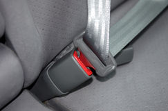 Seat Belt. Royalty Free Stock Photography