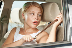 Seat belt Royalty Free Stock Photography
