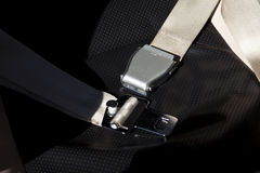 Seat belt. Airplane, helicopter  airplane Seat belt Royalty Free Stock Photography