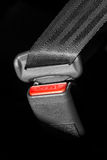 Seat belt. Drivers seve life Royalty Free Stock Photography
