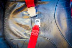 Seat belt   ( Filtered image processed vintage effect Stock Images