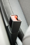 Seat belt lock Royalty Free Stock Photography