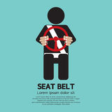 Seat Belt royalty free illustration