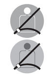 Seat belt Stock Images