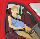 Seat belts Royalty Free Stock Photos