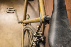 Seat of a bicycle Stock Image