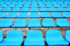 The seat blue color. Stock Image