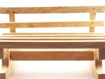 Seat, cadeira de madeira feito a mão Fotografia de Stock Royalty Free