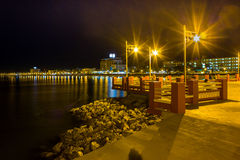 Seat coast Prachuap Bay. Royalty Free Stock Photography