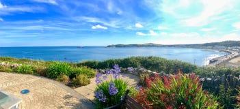 Seat, das Douglas Bay Isle des Mannes übersieht lizenzfreie stockfotografie