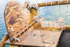 Seat del navigatore di Hokulea Fotografia Stock Libera da Diritti