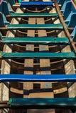 Seat des langen Bootes Lizenzfreie Stockbilder