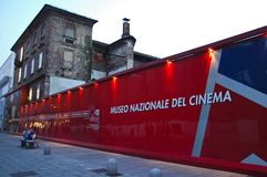 Seat des Nationalmuseums des Kinos in Turin Stockfoto