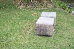 Seat en el jardín Fotos de archivo